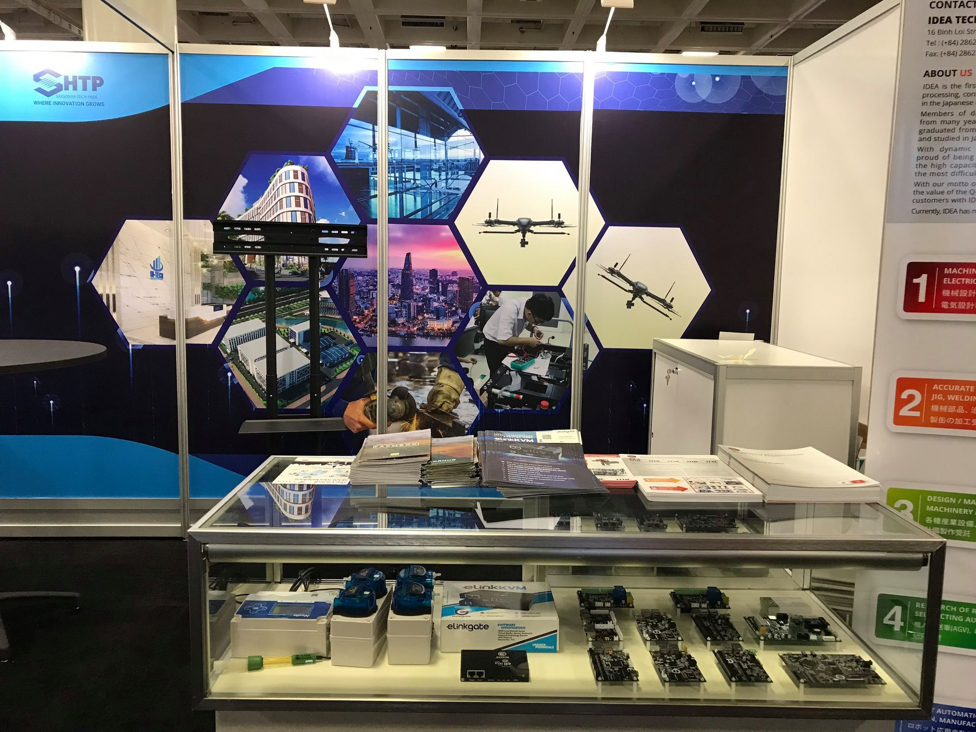 ElinkKVM products have been presented at the Semicon West 2019 exhibition stall in San Francisco city (California, USA).